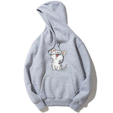 Load image into Gallery viewer, Cute Cat Print Hoodie