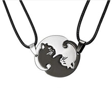 Load image into Gallery viewer, Yin Yang Cat Necklace