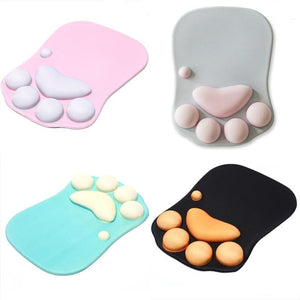3D Cat Paw Mouse Pad