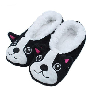 Cartoon Puppy Slippers