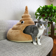 Load image into Gallery viewer, Funny Poop Cat Bed (LAUNCH DISCOUNT 60% OFF)