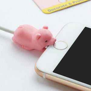 1 Pc Cute Animal Cable Protector