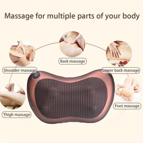 Home/Car Massager Upgraded Version 4/6/8 Heads