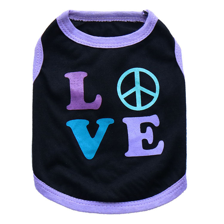 Fashion Cat Dog Vest  Dog Clothes
