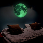 Moon Shape Wall Sticker Glowing Room Decoration 3D Popular PVC Sticker