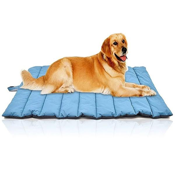 Summer Portable Waterproof Large Dog Bed Outdoor Pet Pad Kennel Mat