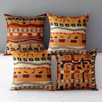 African Ancient National Style Cushion Pillow Case