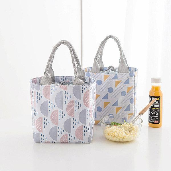 Bunch Mouth Insulation Package Outdoor Picnic Lunch Bag