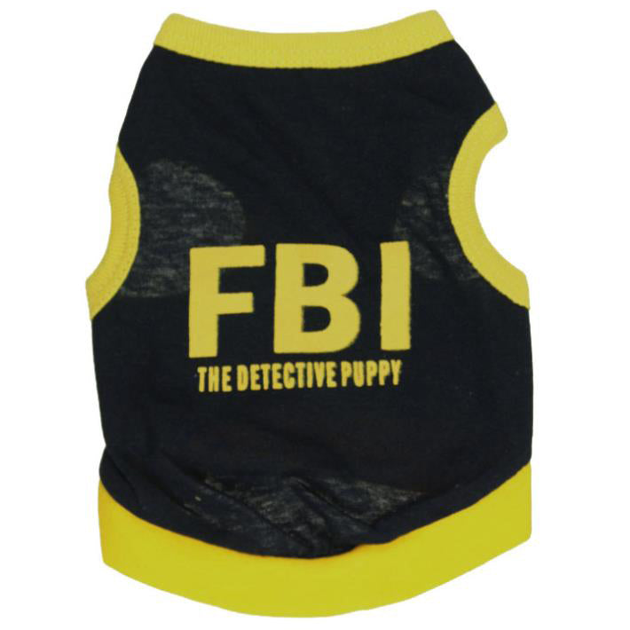 Fashion Pet T-Shirt Dog Vest Dog Clothes
