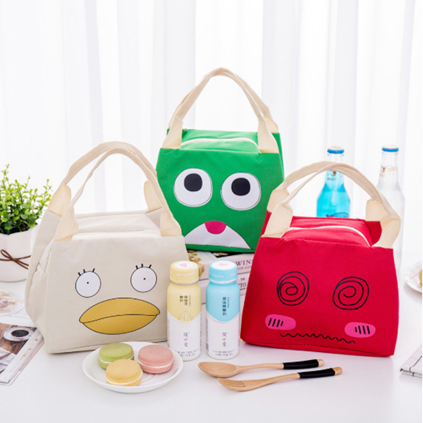 Cute Picnic Cooler Insulated Handbag Food Lunch Tote Bag
