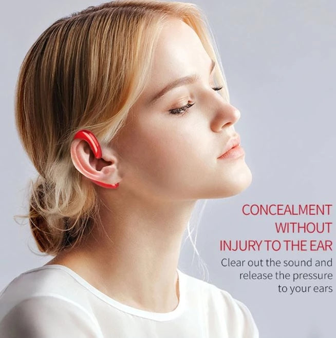 Bone Conducting Bluetooth Light Fashion Earphones