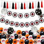 Halloween Balloon Set Horror Eye Charm Halloween Flags