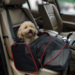 Multifunctional Breathable Pet Car Carrier Mesh Travel Bag for Small Size Dog Cat
