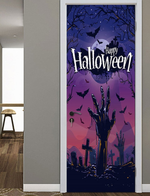 Halloween Pattern Door Stickers
