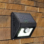 Solar Body Sensor Light Garden Wall Light Outdoor Waterproof Solar Street Light Door Light