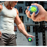 LED Wrist Ball Trainer Gyroscope Strengthener Power Ball