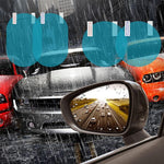 Car Rainproof Anti-fog Protective Film Rearview Mirror