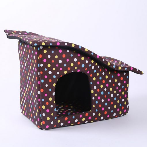 Dog House Folding Dog Beds For Large Dog House With Mat Pets Product Cats House