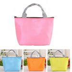 Candy Color Waterproof Ice Bag Travel Package Bag Insulation Package Picnic Bag Lunch Tote Bag
