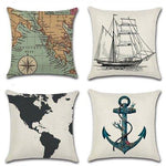 Retro European Style Cushion Cover Throw Pillow Case