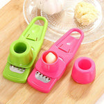 Garlic Ginger Steel Grinding Presses Kitchen Gadget Slice Cooking Tools