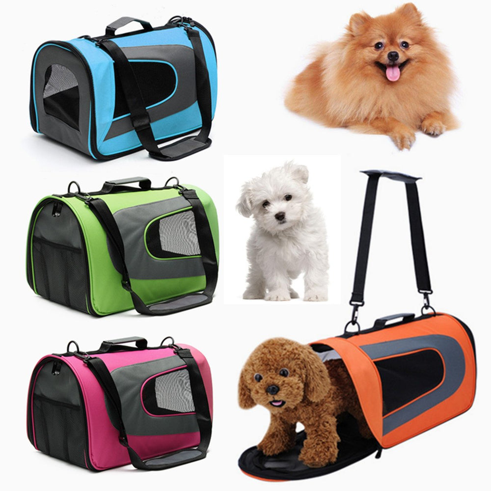 Soft Sided Dog Carrier Pet Travel Portable Bag Home Puppies Travelling Carrier Pet Supplies