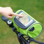 Outdoor Riding Bag Bicycle Bag Touch-screen Smartphone Bag Bike Front Portable Bag
