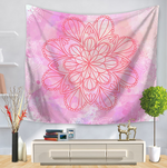 3D Mandala Floral Printing Tapestry Home Living Room Art Decor Tapestry Beach Towel