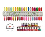 Blooming Collection - Gel + Lacquer Duos (36 matching colors)
