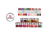 Delightful Collection - Gel + Lacquer Duos (36 matching colors)