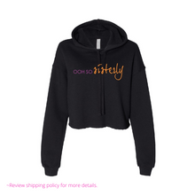 Load image into Gallery viewer, Forever Committed Cropped Fleece Hoodie - MSC by Ooh So Sisterly