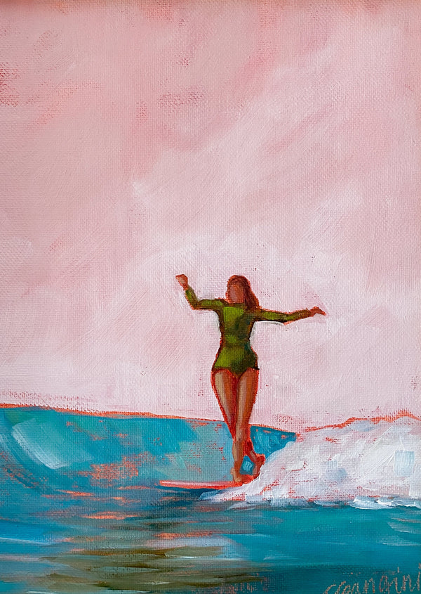 Surfer Girl no.23 by Carla Gangini