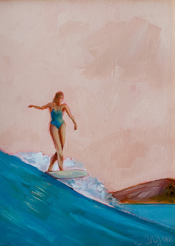 Surfer Girl no.17 by Carla Gangini