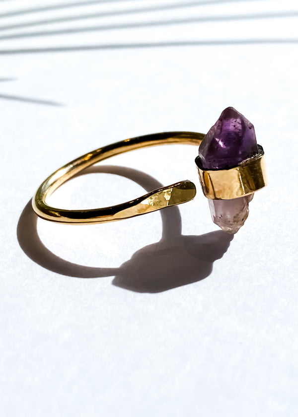 Luxe Ring - Branberg Amethyst