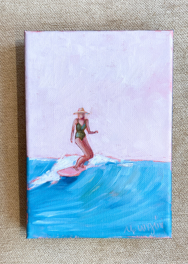Surfer Girl no.8 by Carla Gangini