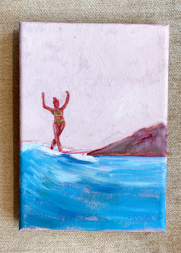 Surfer Girl no.12 by Carla Gangini