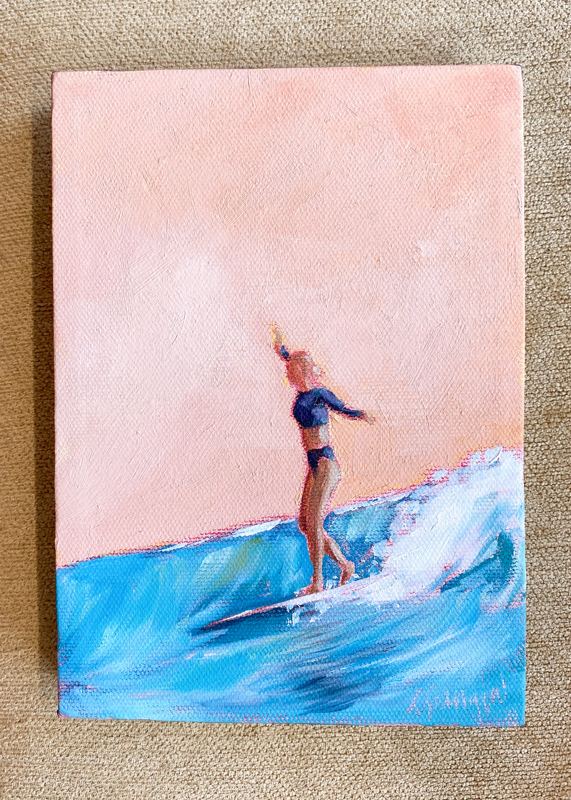 Surfer Girl no.3 by Carla Gangini