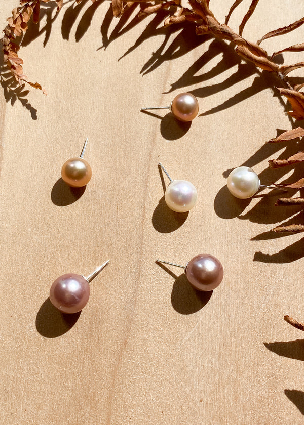 Freshwater Edison Pearl Studs
