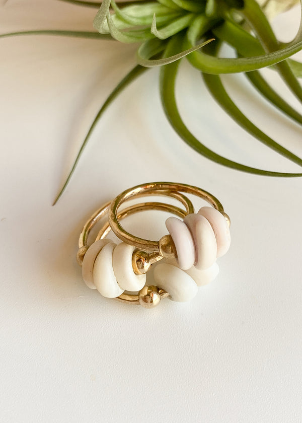 Puka Stacking Ring