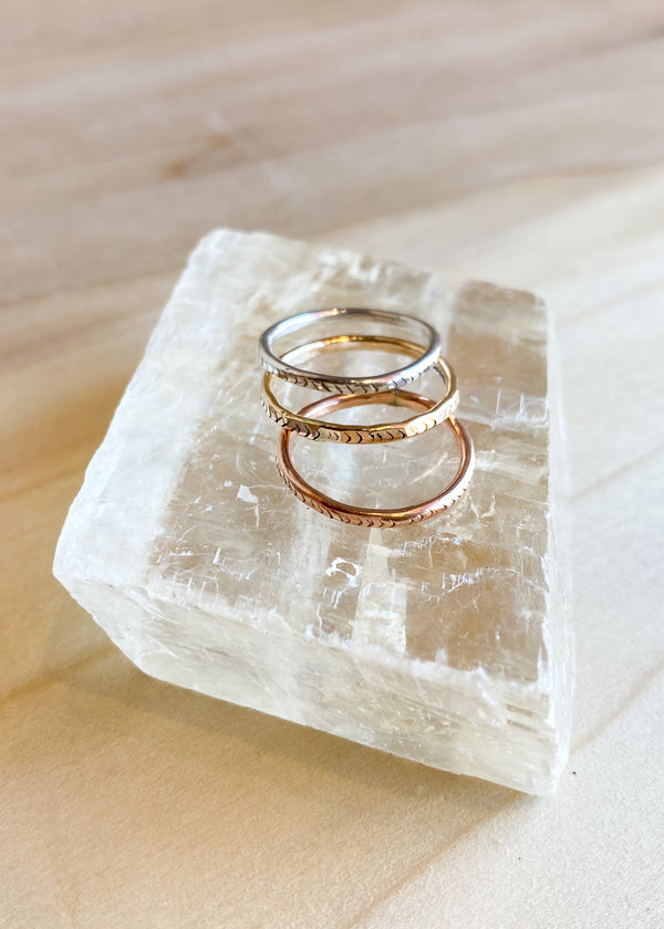 Stacking Ring Set - The Trio