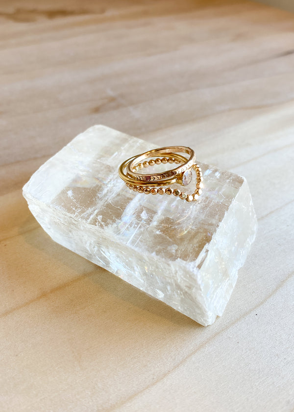Stacking Ring Set - The Luxe