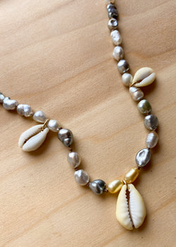 Cowrie Queen Necklace