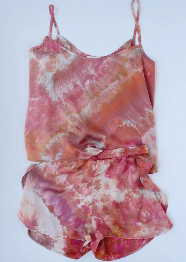 Cami Set: Sunset - Size S