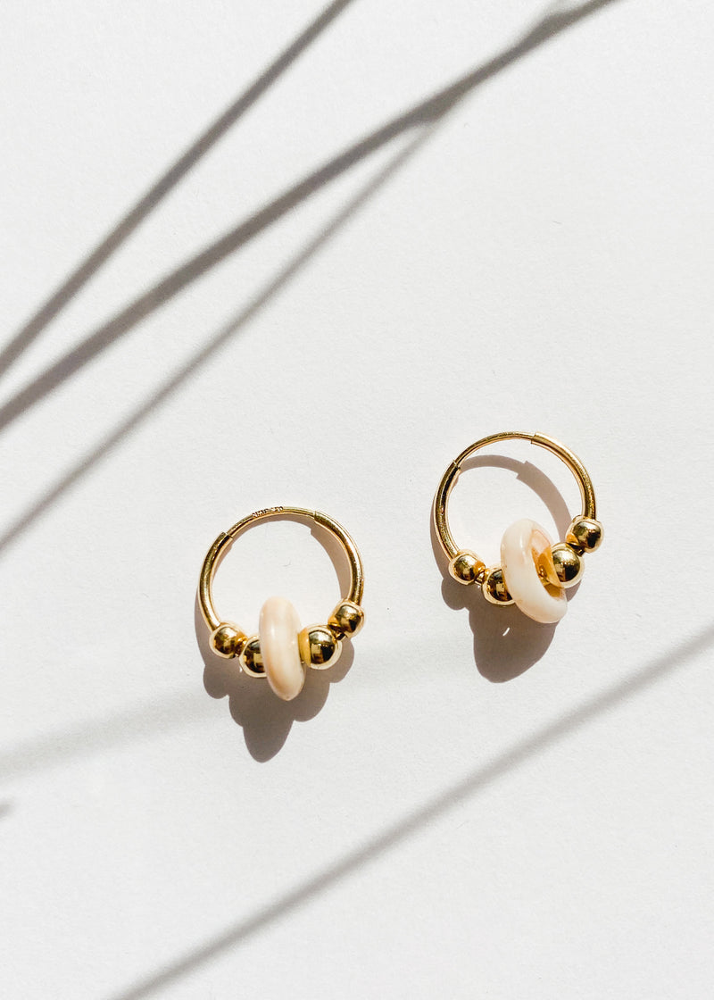 Puka Hoops - Gold Filled