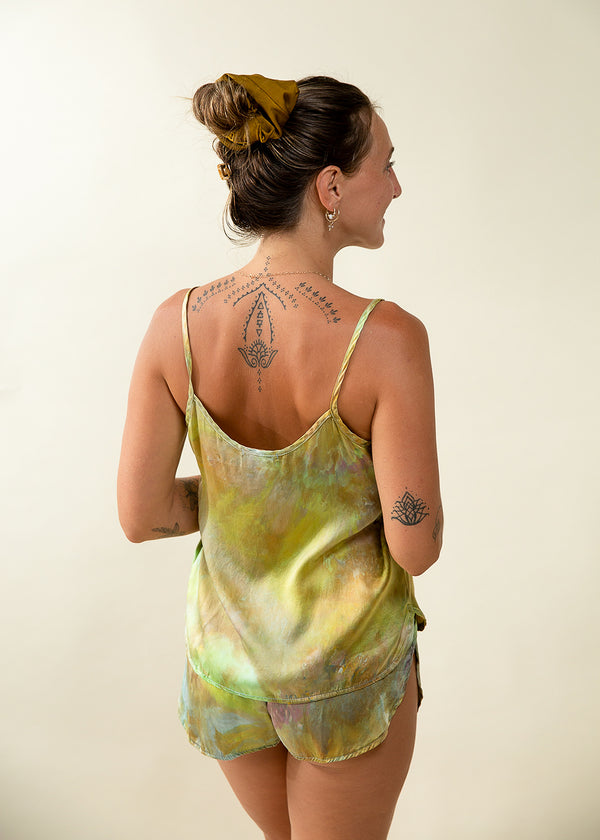Cami Set: Peacock - Size S