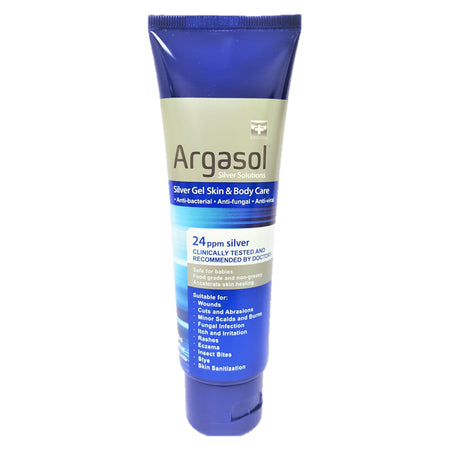 ARGASOL - Silver Gel Skin & Body Care | 24PPM | 118 ML