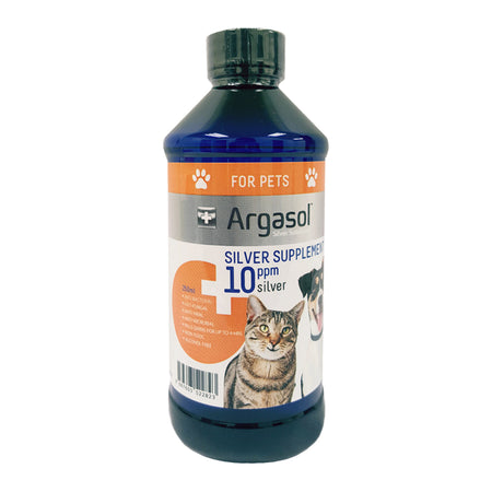 ARGASOL For Pets - Silver Supplement | 10PPM | 250 ML
