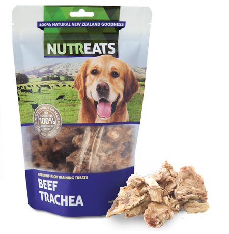 NUTREATS BEEF TRACHEA for Dogs - 100% Natural Dog Treats | 50G