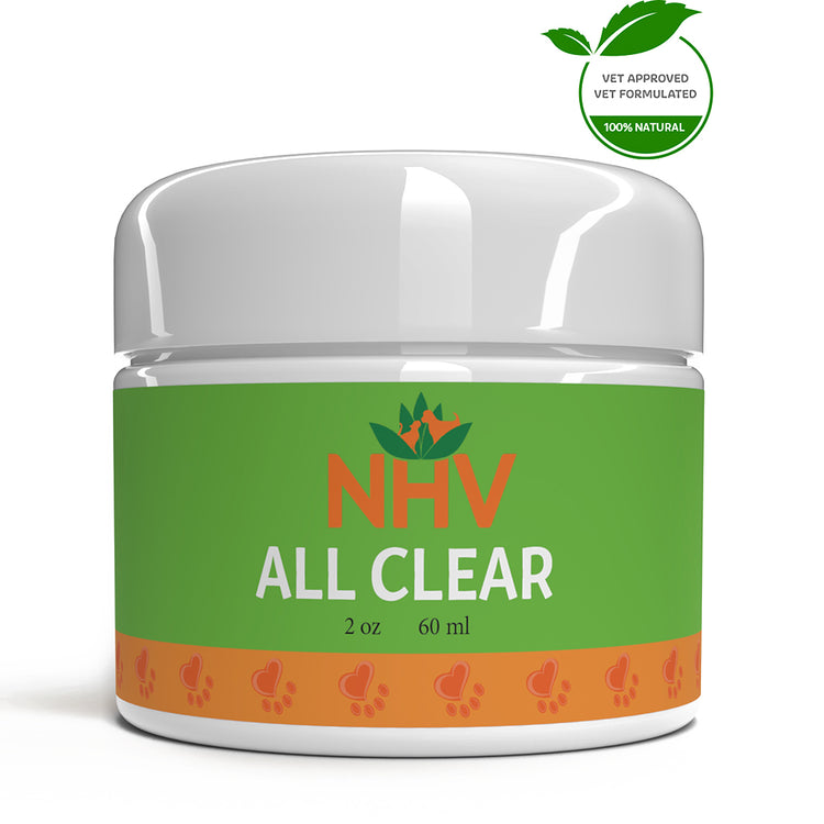 NHV ALL CLEAR OINTMENT for Dogs, Cats and Rabbits - Grooming - 60ML