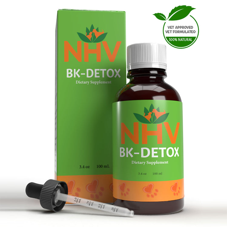 NHV BK-DETOX for Dogs and Cats - Dietary Supplement - 100ML